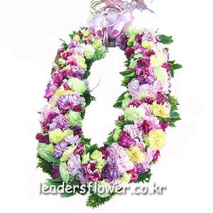 꽃목걸이 4호