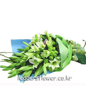 백합꽃다발 3호